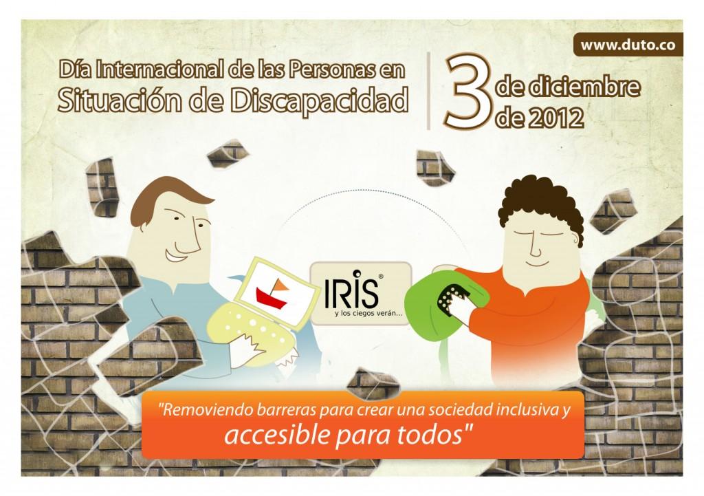 Día Internacional de las Personas en Situación de Discapacidad, 3 de diciembre de 2012